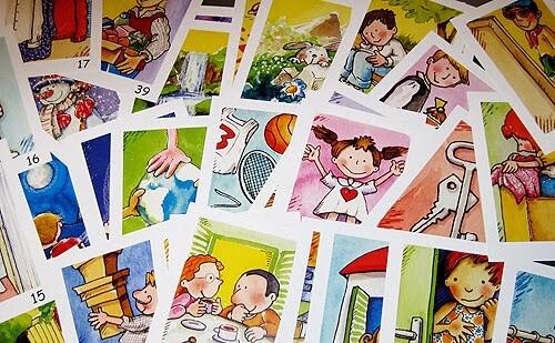 cartes per infants i joves